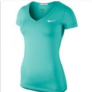 Nike pro v-neck
